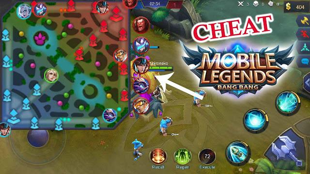 Cheat Mobile Legends Semua Musuh Terlihat di MAP