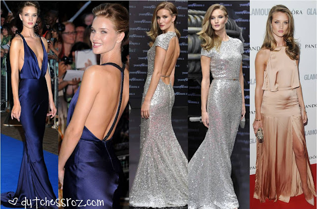Rosie1 Rosie Huntington Whiteley Red Carpet Style