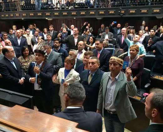Diputados de Amazonas durmieron en la Asamblea para garantizar su integridad física