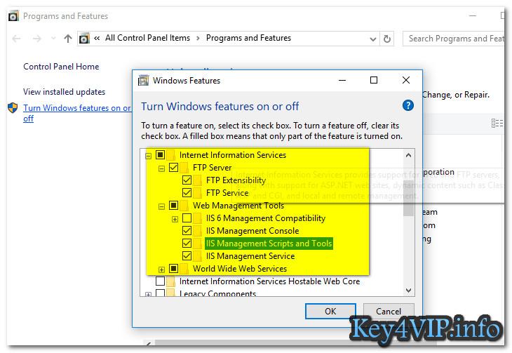 Hướng dẫn cài đặt IIS trên Windows 10 - Thủ Thuật về máy tính