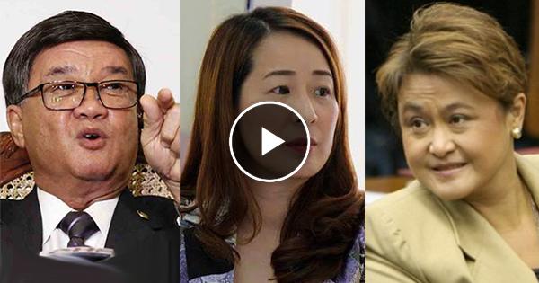 Watch: Aguirre, inaming sina Jamby Madrigal at Laguna Rep. Alonte ang nasa likod ng panunuhol sa mga inmates