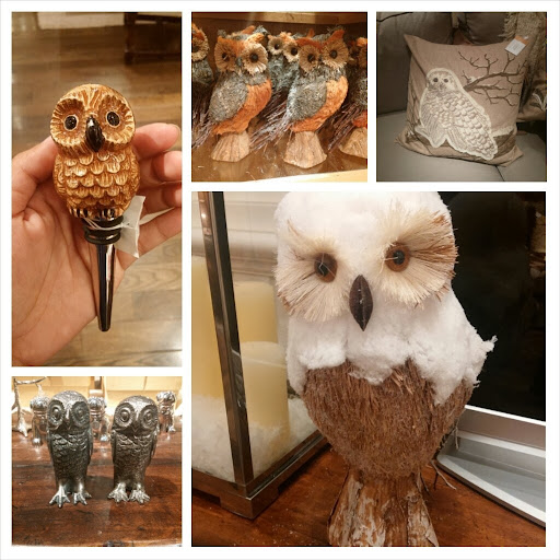 Owls at Pottery Barn | Taste As You Go