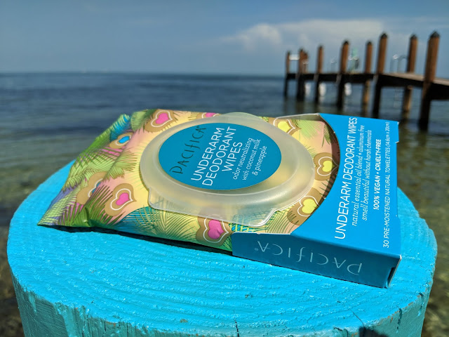 Pacifica Beauty Coconut Milk & Pineapple Underarm Deodorant Wipes