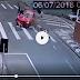 Acidente deixa mulher ferida em Ponta Grossa; veja vídeo
