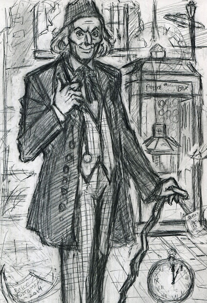 Sketch the First Doctor