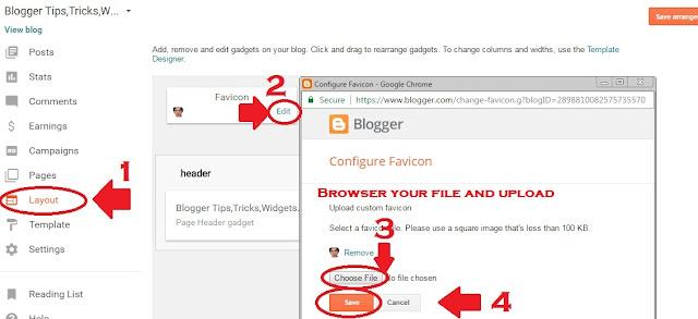 Favicon For Blogger