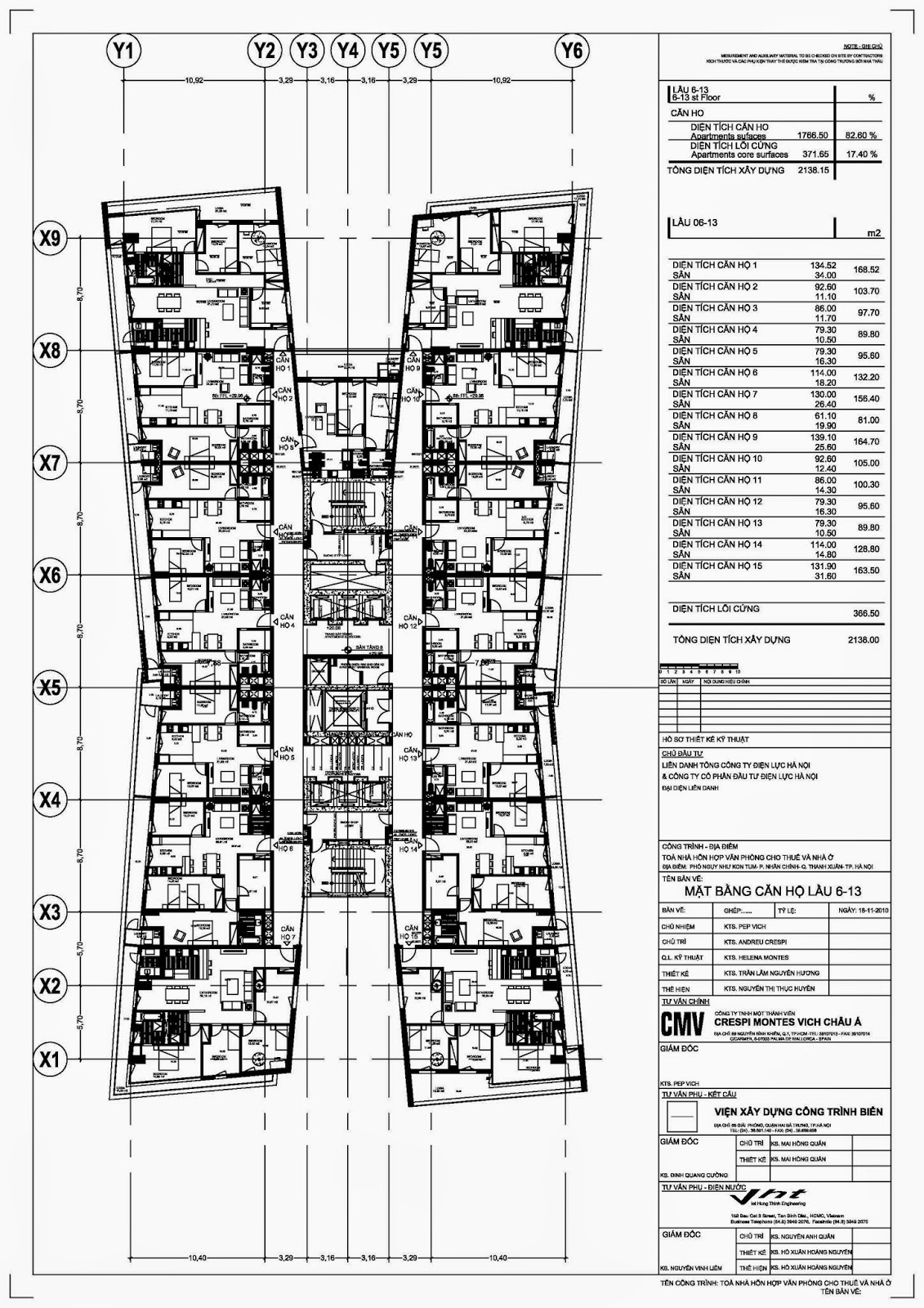 nhadatviet.org chung cư điện lực sơ đồ mặt bằng