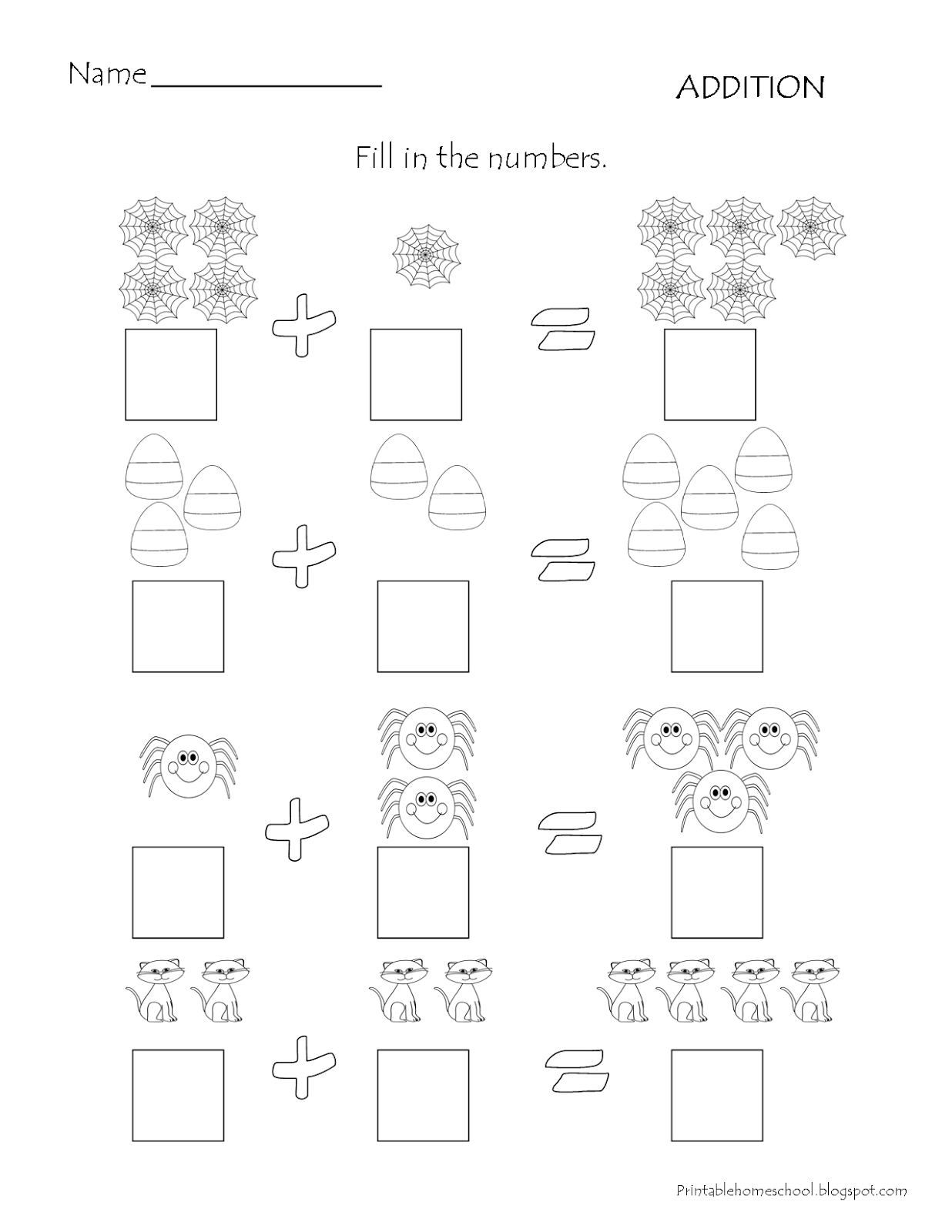 Printable Homeschool October