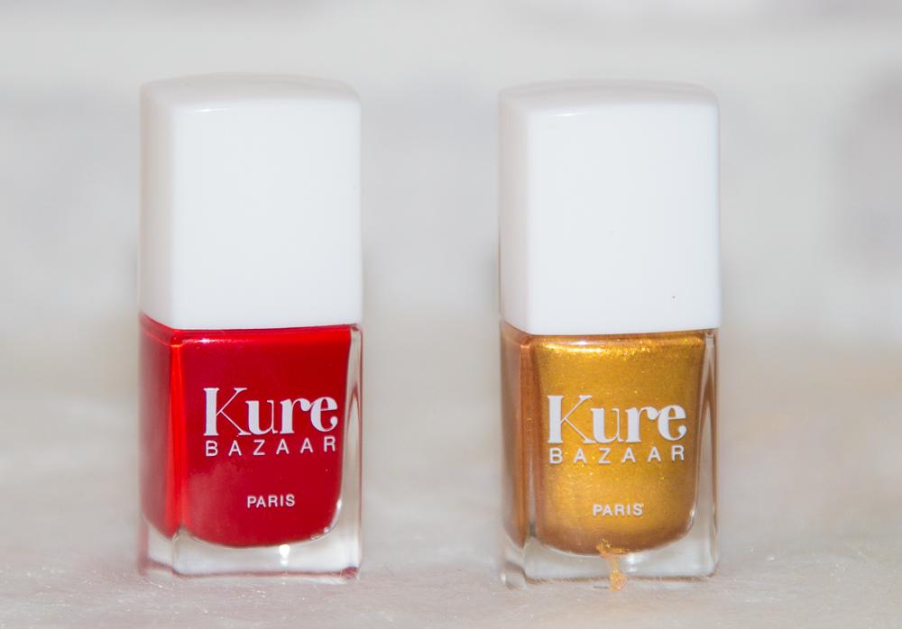 vernis - kure bazaar - rouge - dore