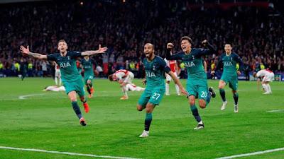 Ajax 2 x 3 Tottenham - Liga dos Campeões 2018/2019 Semifinal