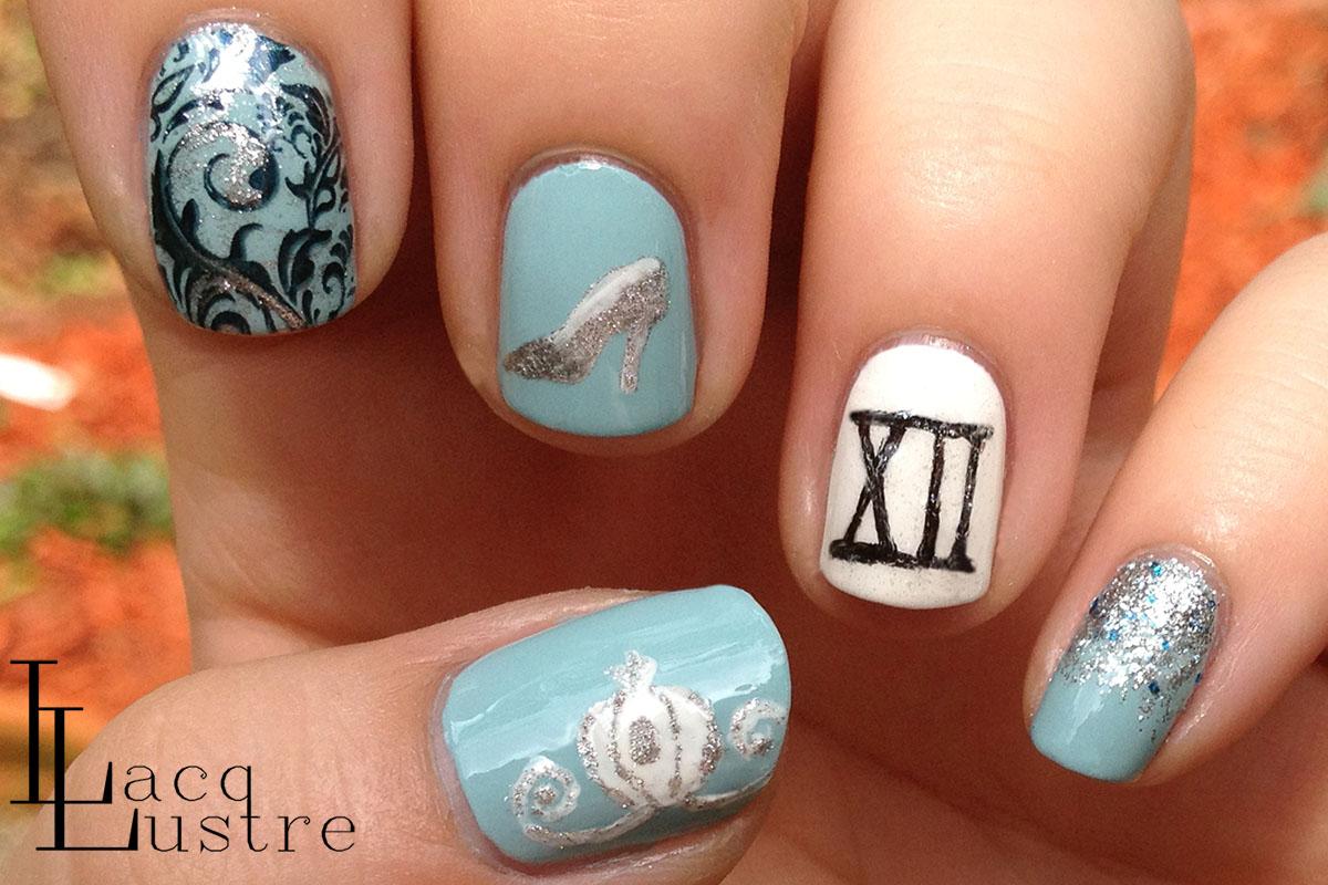 cinderella disney nail art | Everything | Pinterest