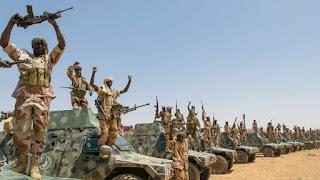 Chars blindés de l'armée tchadienne