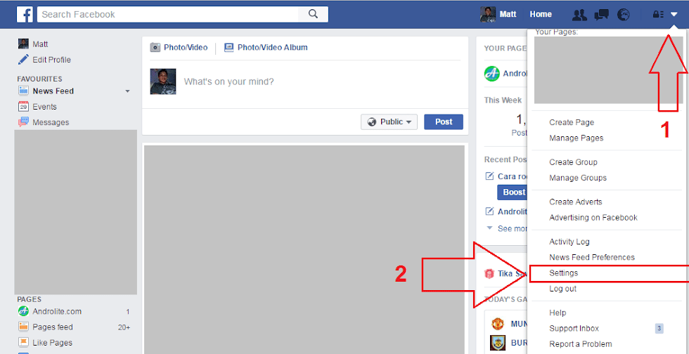 Disable Auto Play Facebook di Browser