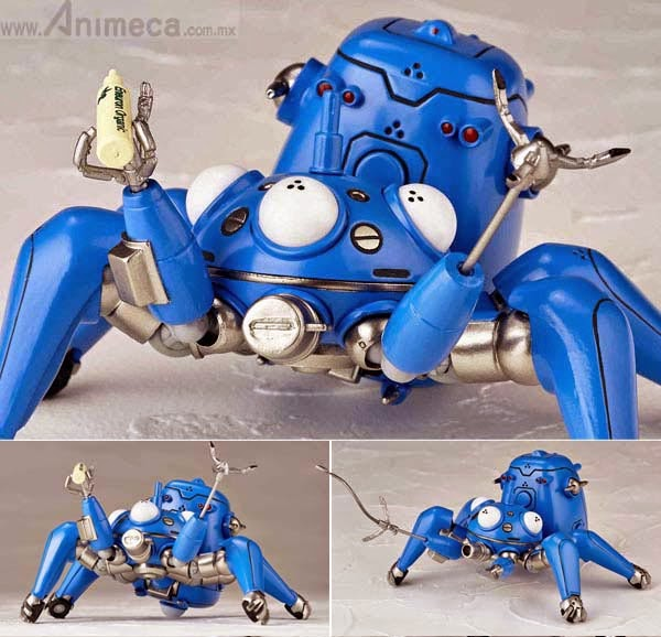 FIGURA TACHIKOMA Anime Ver. No.126EX Ghost in the shell STAND ALONE COMPLEX REVOLTECH YAMAGUCHI