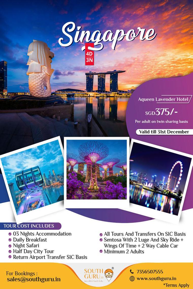Brosur Tempat Wisata Dalam Bahasa Inggris singapore