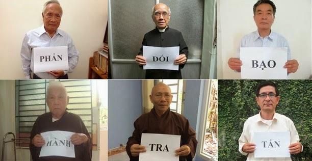 25 tổ chức dân sự Việt Nam đồng loạt phản đối công an bạo hành