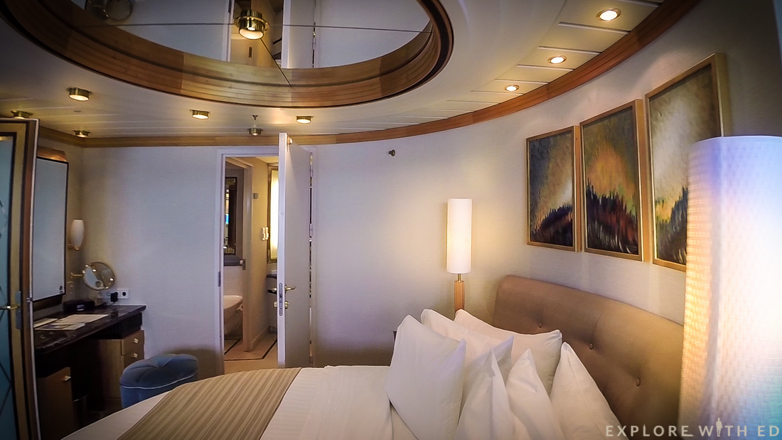 Royal Suite Bedroom, Royal Caribbean