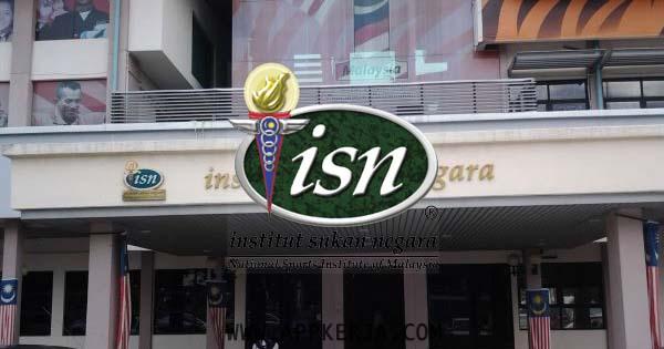 Jawatan Kosong di Institut Sukan Negara (ISN) - 21 Mei 2018