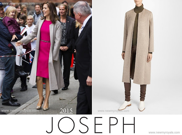 Crow -Princess Mary wore JOSEPH Double Cashmere Oslo Coat