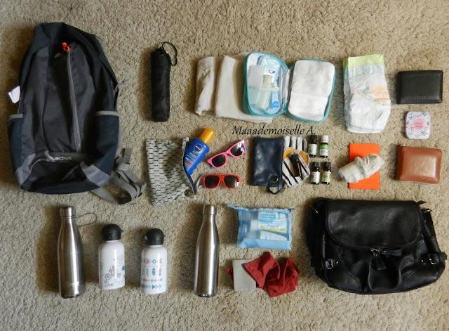    Deux semaines de vacances, 2 adultes, 2 enfants, je mets quoi dans mes valises ? - Dans le sac à dos