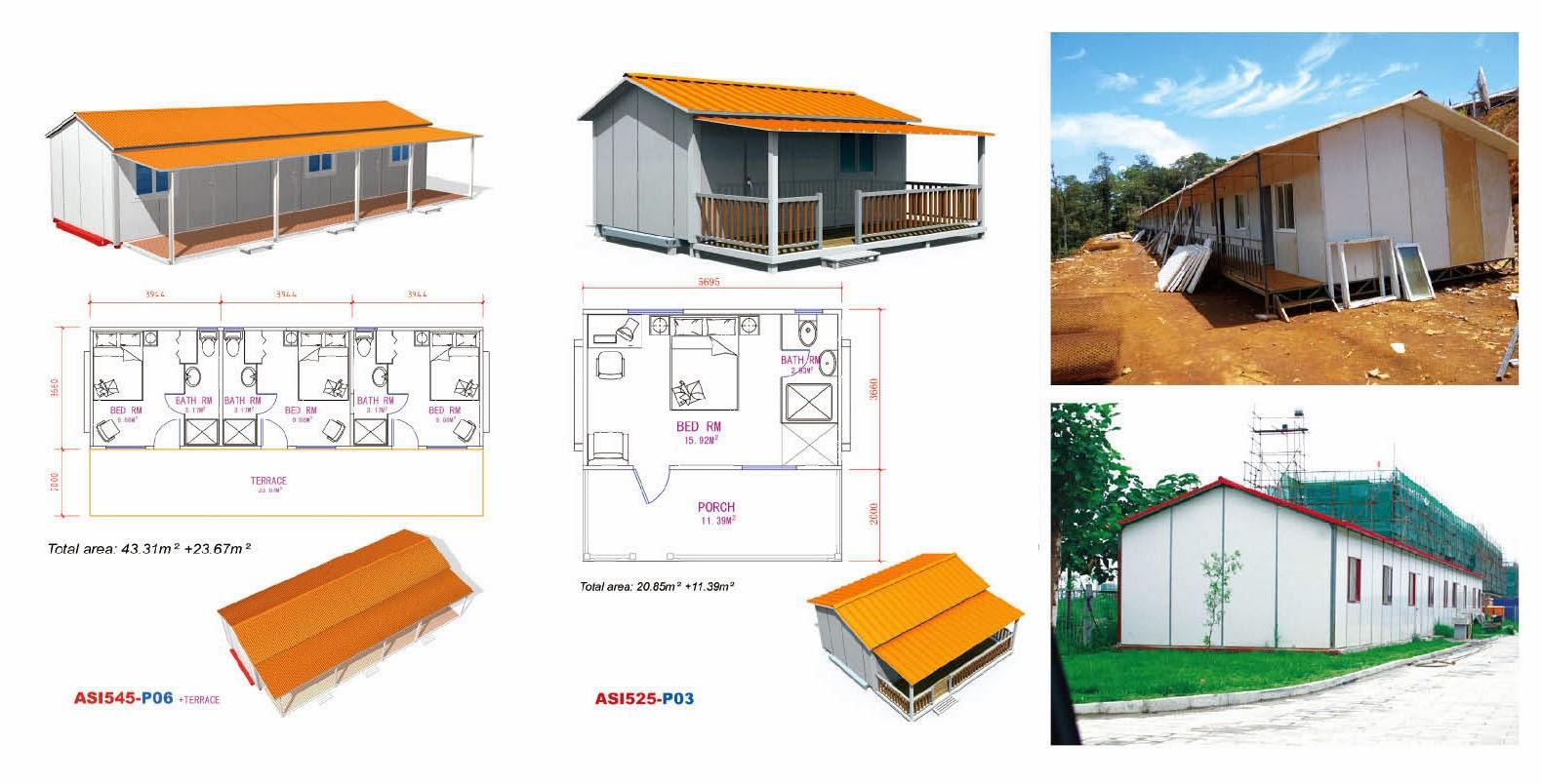 plano casa prefabricada economica