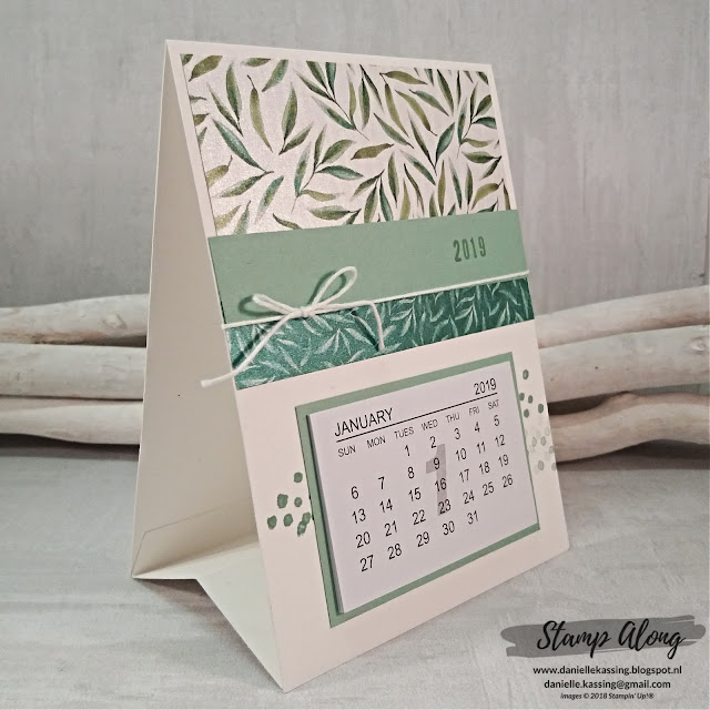 Stampin' Up! Frosted Floral Specialty Designer Series Paper kalender 2019