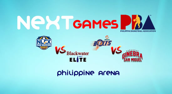 List of PBA Games: February 18 at Philippine Arena 2017-2018 PBA Philippine Cup