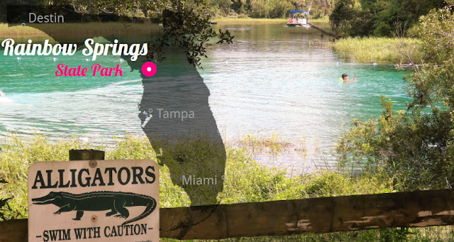 Rainbow Springs State Park, Florida USA