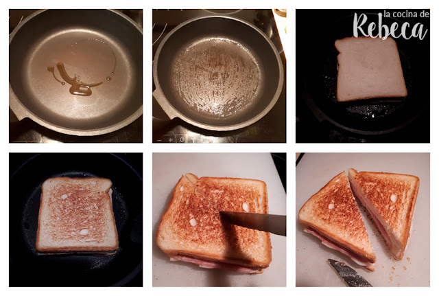 Receta de sándwich mixto o bikini: el tostado