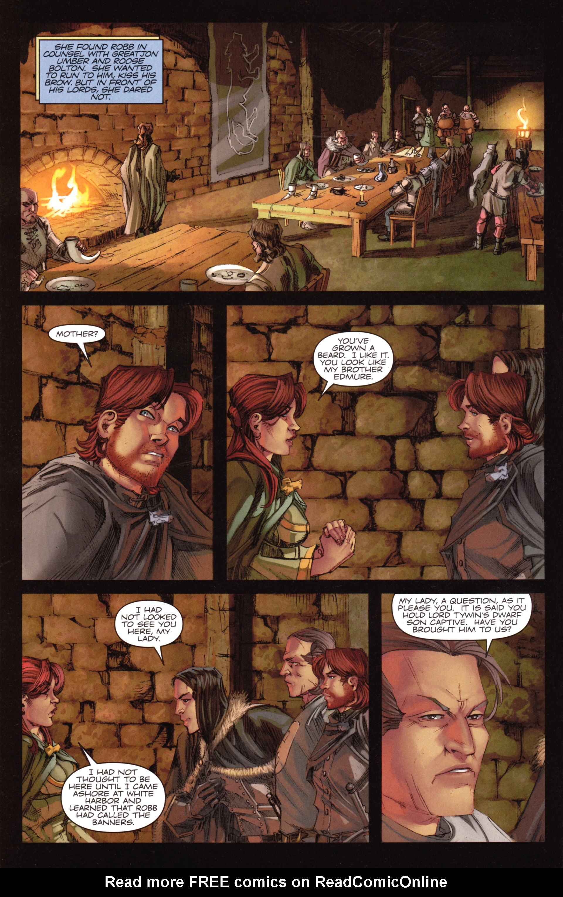 Read online A Game Of Thrones comic -  Issue #18 - 6