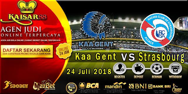 Prediksi Bola Terpercaya Laga Friendlies KAA Gent VS Strasbourg 24 Juli 2018