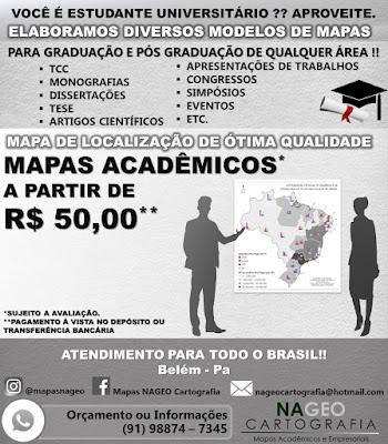 Mapas Acadêmicos em Belém