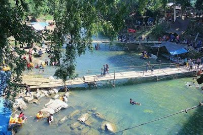 Wisata Pagat, Wisata Batu Benawa, Sungai di Pagat, Jembatan di Pagat Batu Benawa