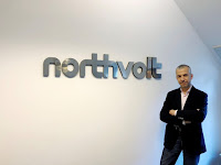 Northvolt co-founder and Chief operating officer Paolo Cerruti poses for a picture in Stockholm, Sweden June 14, 2018. (Credit: Reuters/Esha Vaish) Click to Enlarge.