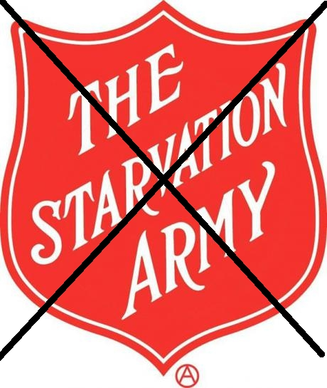 Reject The Salvation Army!
