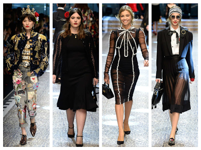 milan fashion week, mfw, dolce & gabbana, desfile, runway, influencers, instagramers, cristina bazan, song of style, aime song, fashion bloggers, youtubers, domenico gabbana, stefano dolce