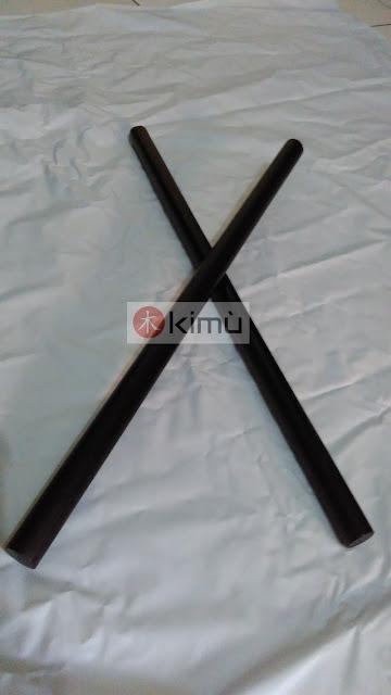 KIMU Black Dragon 60cm Arnis Stick (Tongkat Arnis Bengkirai 60cm)