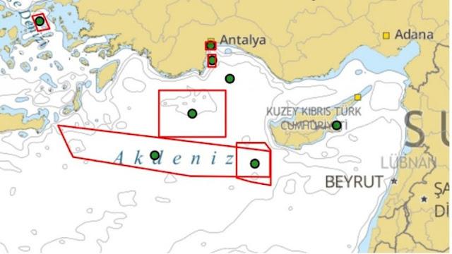 Κυπριακή ΑΟΖ: Με πρόσχημα τους Ιταλούς, τουρκική NAVTEX - Άμεση ελληνική αντίδραση