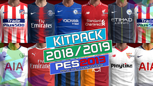 fd8f16653c4 PES 2013 New Season 2018/2019 GDB Kits Pack - Micano4u | PES Patch ...