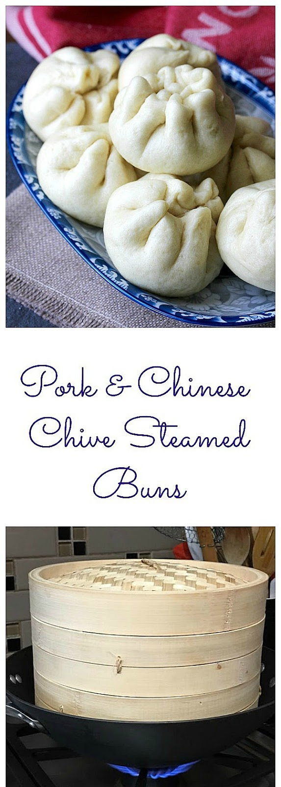Pork and Chinese Chive Steamed Buns