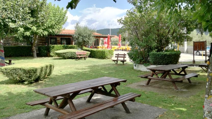 Zona Verde em frente ao Café