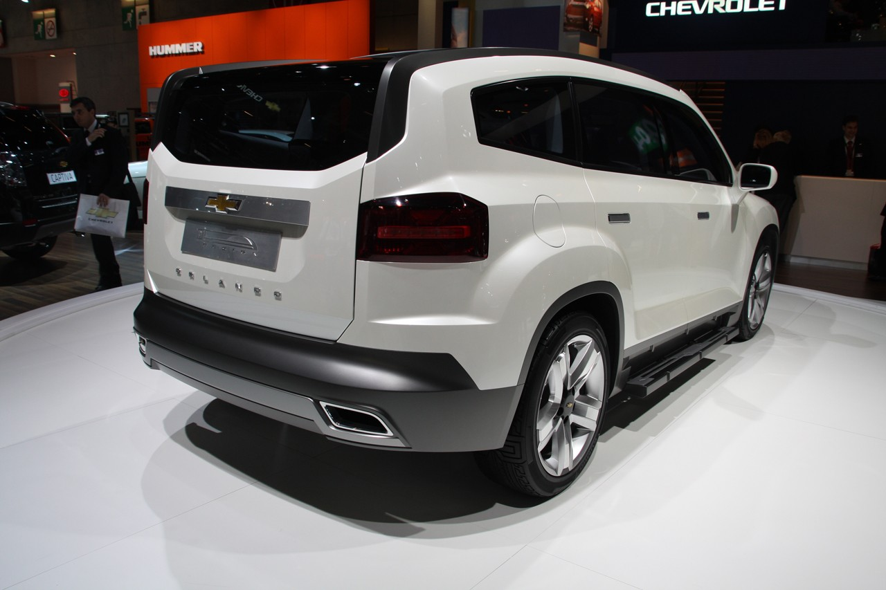 Asemik: Chevrolet Orlando
