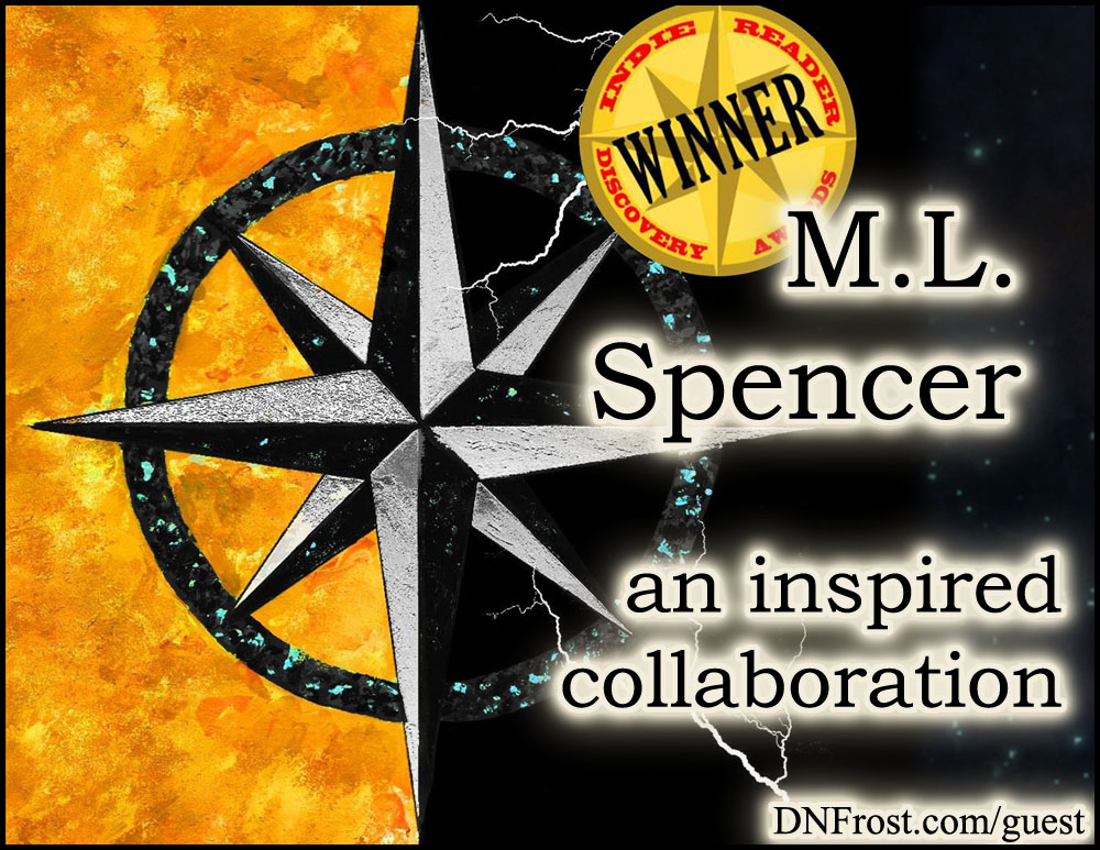 M.L. Spencer: connecting with this fantasy author http://www.dnfrost.com/2017/03/ml-spencer-inspired-collaboration.html An inspired collaboration by D.N.Frost @DNFrost13 Part 2 of a series.