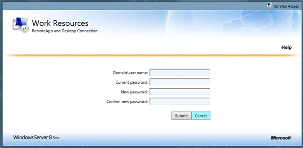 Windows Server 2012 RDS: Enabling the RD WebAccess Expired
