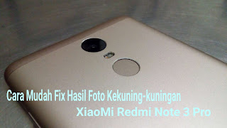Cara mengatasi basil for lining do Xiaomi note 3 pro