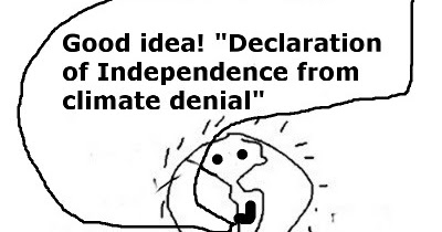 Declaration of Independence from climate denial