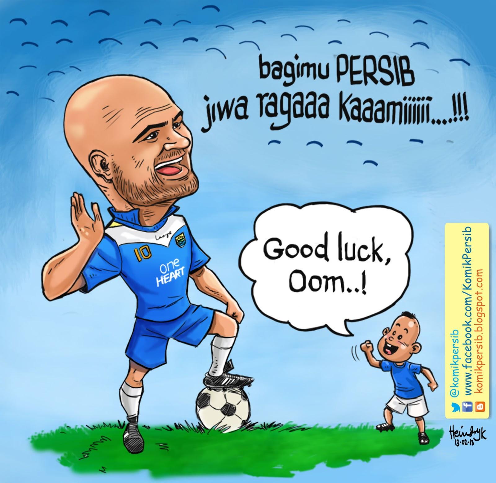 Komik Persib Good Luck Serg10