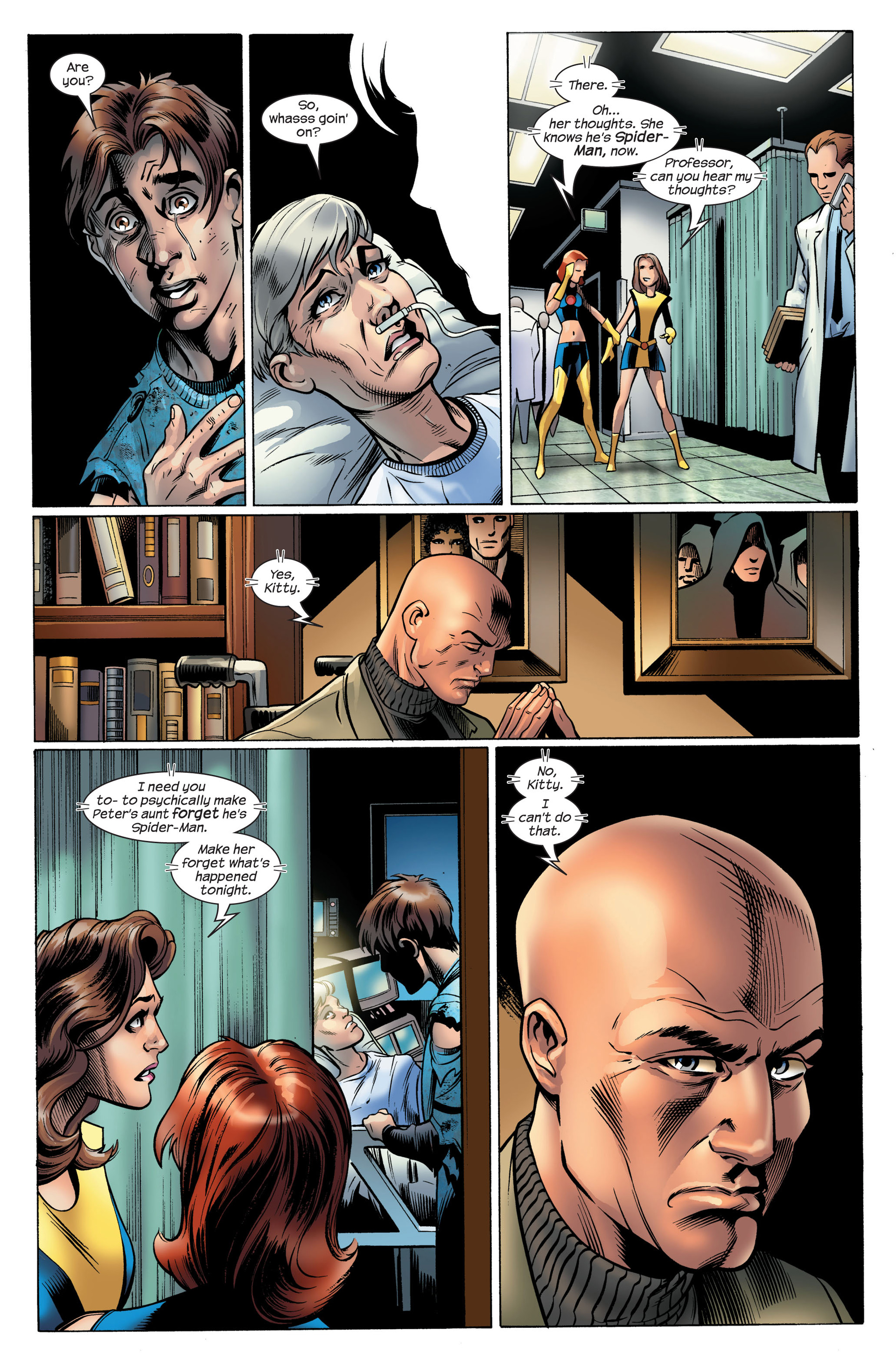 Read online Ultimate Spider-Man (2000) comic -  Issue #105 - 12