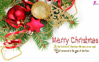 Kartu Ucapan Natal Merry Christmas 80014