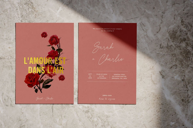 DESIGNER WEDDING INVITATIONS MELBOURNE STATIONERY MENUS